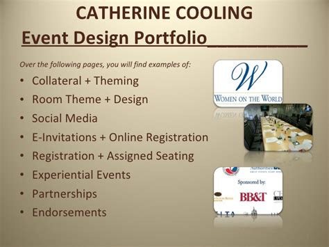 Event Design Portfolio | event design portfolio