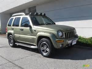 Jeep Liberty Renegade 2003 2003 Cactus Green Pearl Jeep Liberty Renegade 4x4