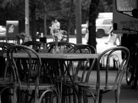 cafe bench ny quot new york city cafe tables quot photography art prints and