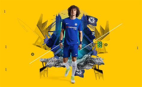 Jersey Bola Team Chelsea Home Official 17 18 Grade Ori nike chelsea 17 18 home kit released footy headlines