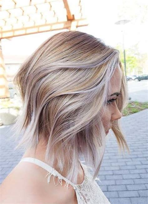 blonde long hair thin 55 short hairstyles for women with thin hair fashionisers