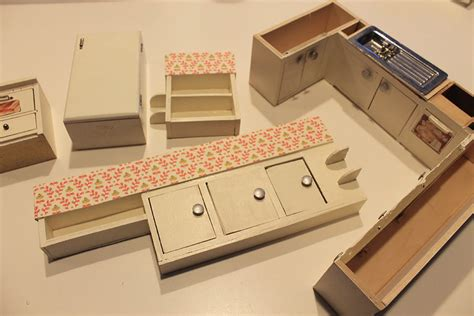 miniature dollhouse kitchen furniture a vintage custom kitchen for the betsy mccall dollhouse