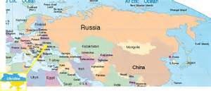 Europe Russia Map by Gallery For Gt Map Of Russia And Europe