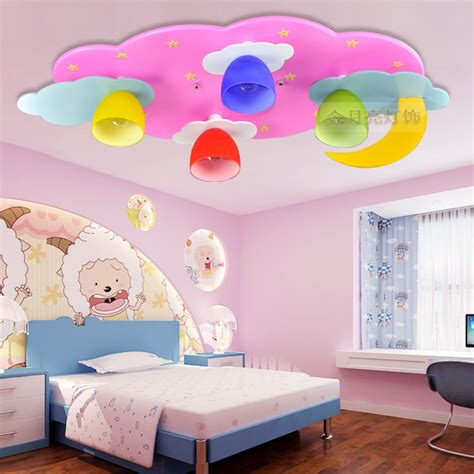 Child Bedroom Light Children S Room L Led Ceiling Lights Boys And Bedroom Room Light Pink Blue