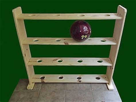 Bowling Pin Rack by Bowling Rack For Up To 16 Balls Ebay For The Home
