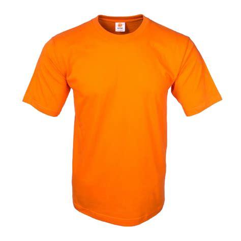 Kaos Polos Orange Xl kaos polos eco soft orange type o neck 100 ring spun cotton