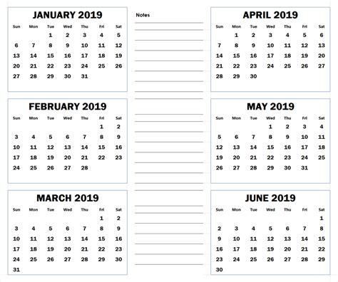 blank month printable calendar calendars
