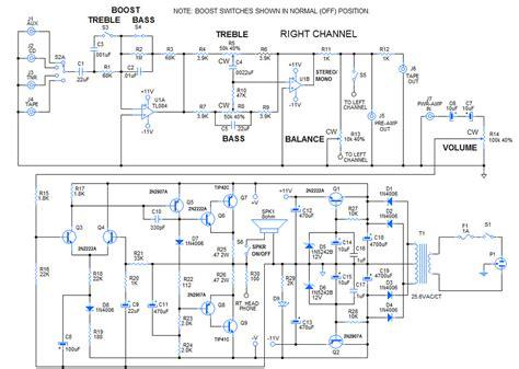 lifier circuit diagram how to diy 30 watt stereo lifier circuit wholesale