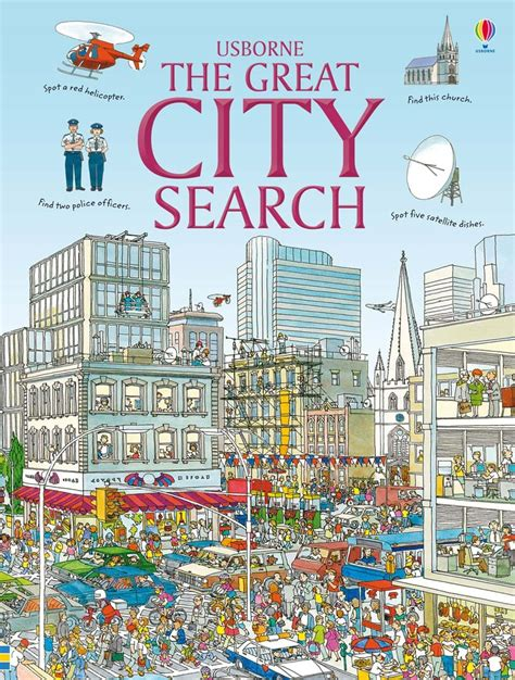 City Search The Great City Search At Usborne Children S Books