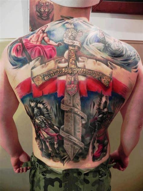 polish patriotic tattoo tattoos pinterest patriotic
