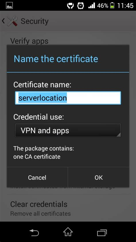 android certificate installer smart dns proxy how to install ca certificate to an andr