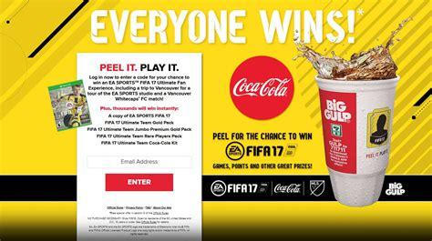 Coke Instant Win - coca cola and 7 eleven ea sports instant win giftout