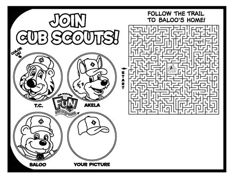 clip art for cub scout leaders