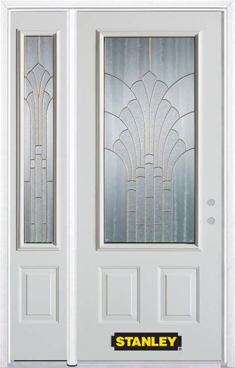Stanley Doors 48 Inch X 82 Inch Gladis 3 4 Lite 2 Panel 48 Doors Exterior