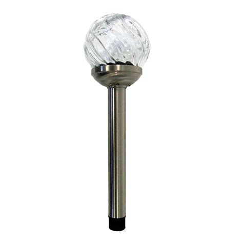 Solar Light Sets Sale Smart Garden Glass Solar Stake Lights Set Of 4 On Sale