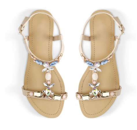 madeline sandals shoes madeline stuart sandals jewels bedazzled