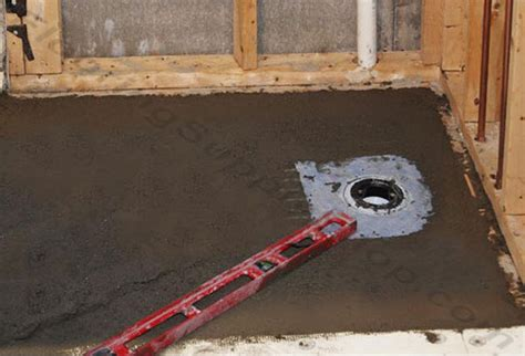 mortar bed installing a shower pan using a mortar bed nest appeal