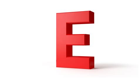 e design red letter e protium design