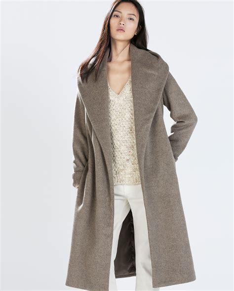 zara indonesia wool coat with belt coats outerwear zara
