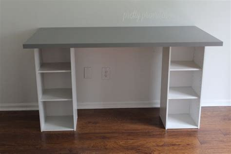 Ikea Hack Easy Diy Desk For Under 60 Diy Ideas Simple Diy Desk