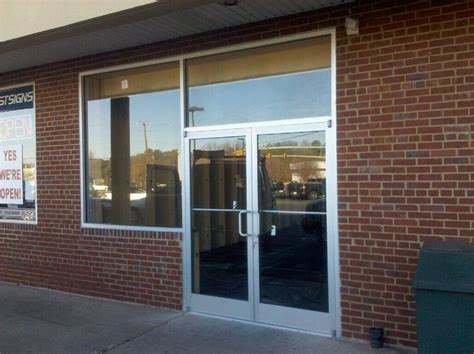 Commercial Store Front Doors Glass Storefront Door Texture