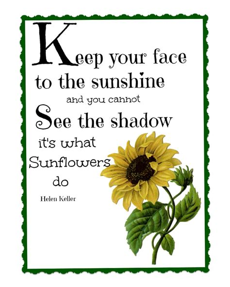 printable sunflower images quotes about love and sunflowers quotesgram