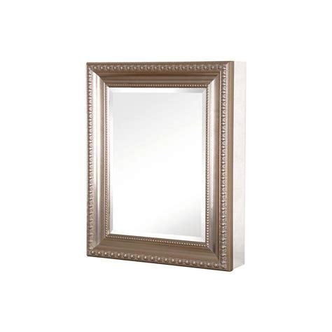 pegasus bathroom mirrors pegasus 24 in w x 30 in h framed recessed or surface