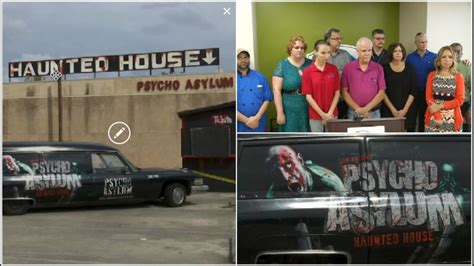 downtown haunted house groups call for boycott of downtown haunted house woai