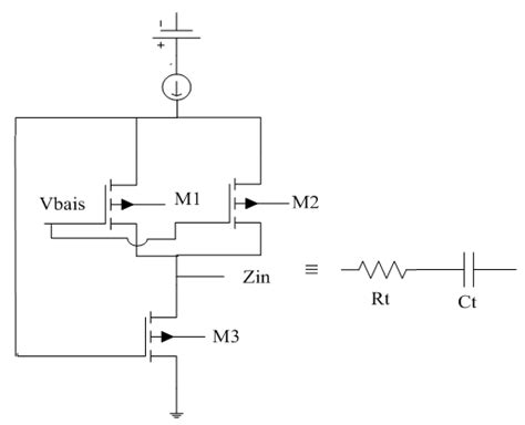 band pass filter using inductor and capacitor figure 5 active capacitor circuit 1 ghz cmos band pass filter design using an active inductor