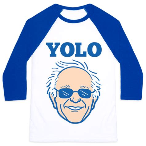 Yolo In White Phone human bernie yolo clothing baseball