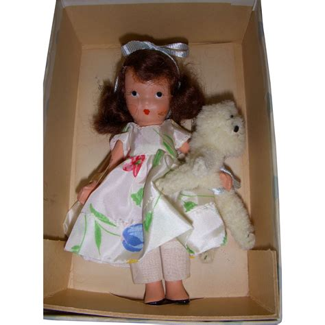 bisque storybook dolls nancy storybook doll bisque quot i a pet quot mib