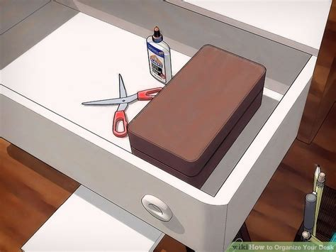 how to organize desk how to organize your desk 13 steps with pictures wikihow