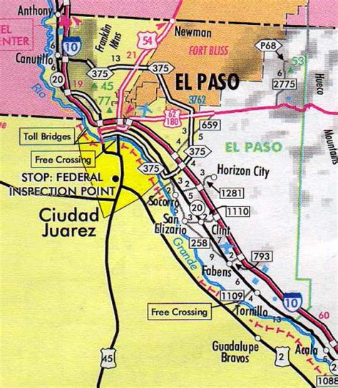 texas el paso map el paso county map texas texas hotels motels vacation rentals places to visit in texas