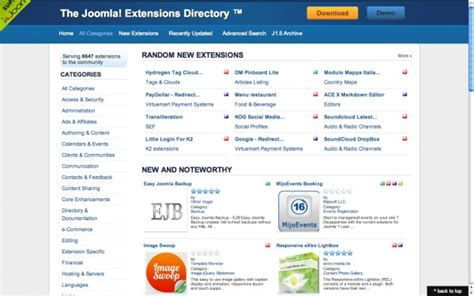 tutorial zoo joomla how to choose an extension part 1 selection steps