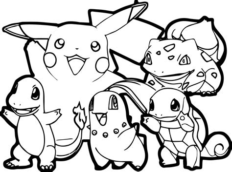 All Pokemon Coloring Pages Wallpaper Download Coloring Pages Of Black And White