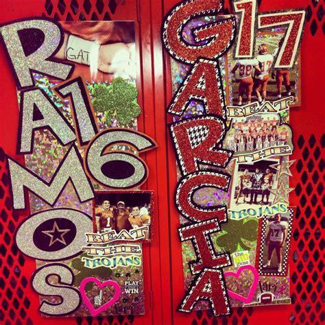 Football Locker Decorations by Locker Decorations High School Football