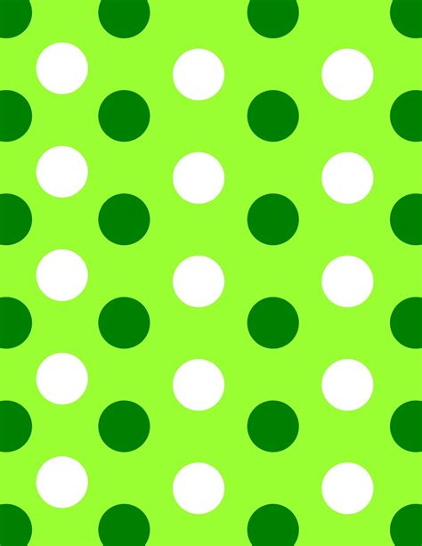 green polka dot wallpaper detail oriented diva february 2012