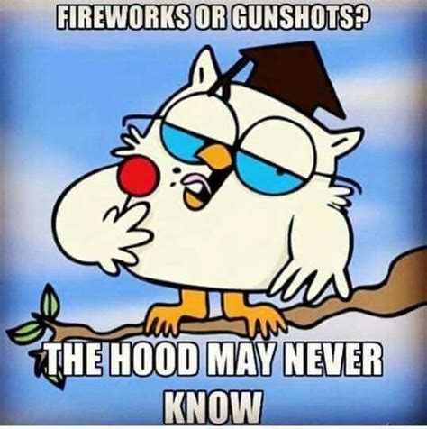 Fireworks Meme - fireworks or gunshots the hood may never know hahaha