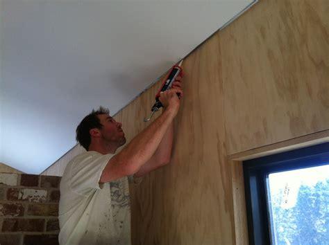 gap between and wall whitewashing the walls 60k house