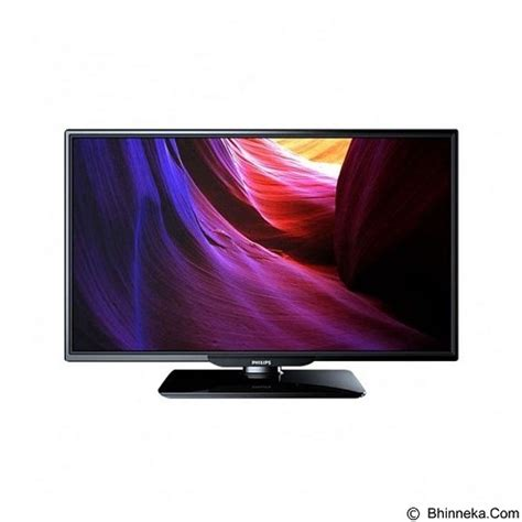 Philips Ultra Slim Led Hd Tv 32 philips 32 inch tv led slim 32pha4100 merchant jual televisi tv 32 inch 40 inch murah