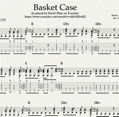 Basket Case Guitar Chords