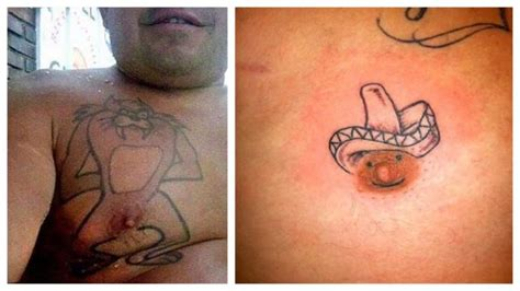tattoo around nipple weird see the hilarious nipple tattoos people are now