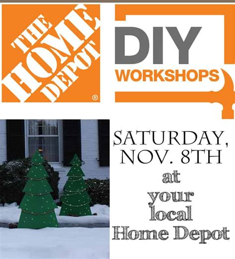 diy home depot the home depot holiday diy workshop come join us