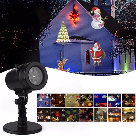 patterns christmas laser snowflake projector outdoor