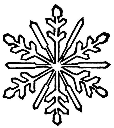 Snowflake clip art black and white clipart panda free clipart