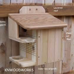Flying Squirrel House Plans Squirrel House And Squirrel Feeder Pictures