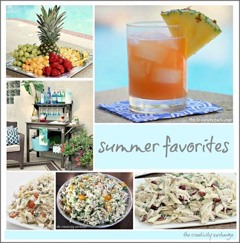 entertaining ideas favorite summer recipes and outdoor entertaining ideas