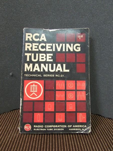 rca receiving manual rc 14 books books and accessories