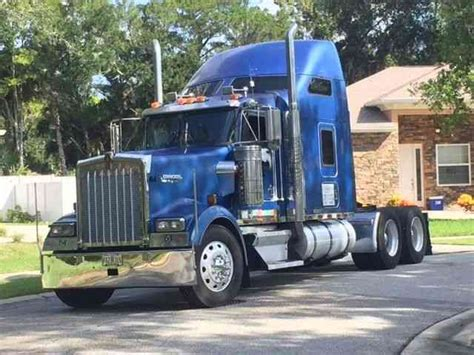 kenworth trucks sale owner kenworth w900l 2001 sleeper semi trucks