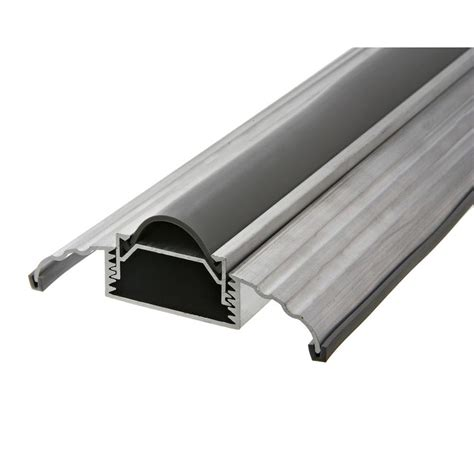 King Door Seal by King E O 3 1 2 In Wide X 36 In Silver Adjustable